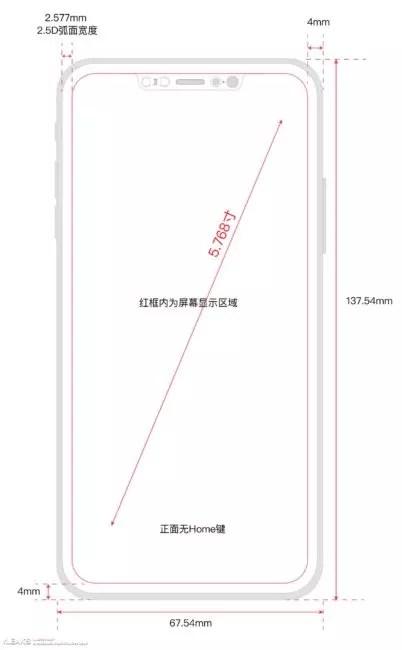 dimensiones iphone 8