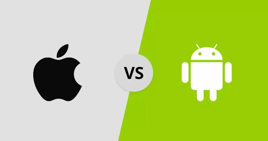 Resultado de imagen para ios vs android