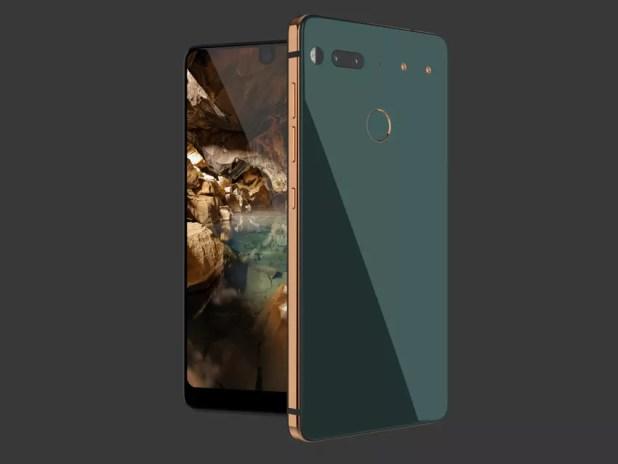 Carcasa de cerámica del Essential Phone