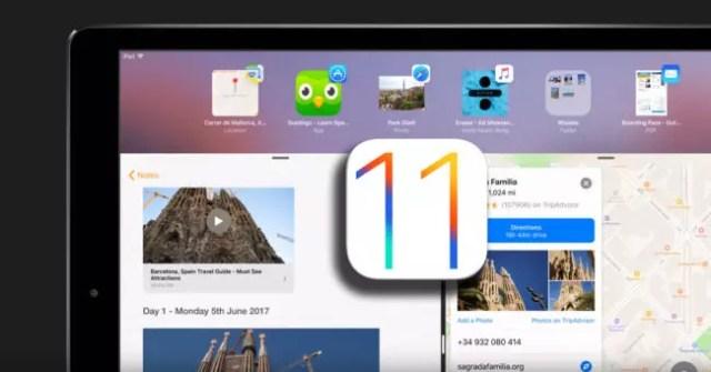 Vídeo conceptual de iOS℗ 11 para iPad