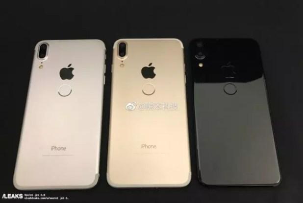 Parte delantera del iPhone 8