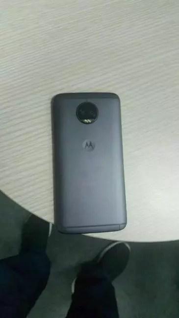 cámara dual del Moto G5S Plus