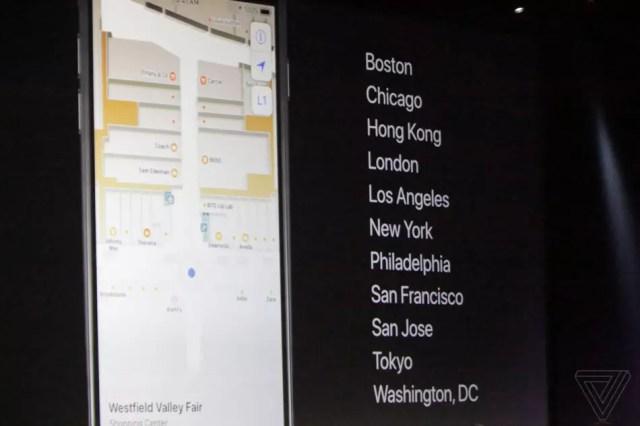 Novedades de Apple Maps integrado en iOS 11