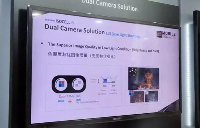 Sensor ISOCELL Dual para la doble cámara del Galaxy℗ Note 8