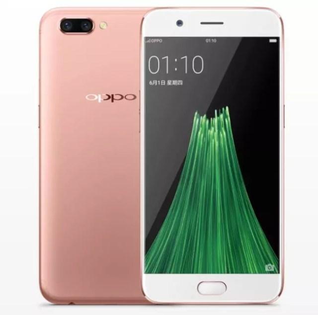 Oppo R11 Plus rosa