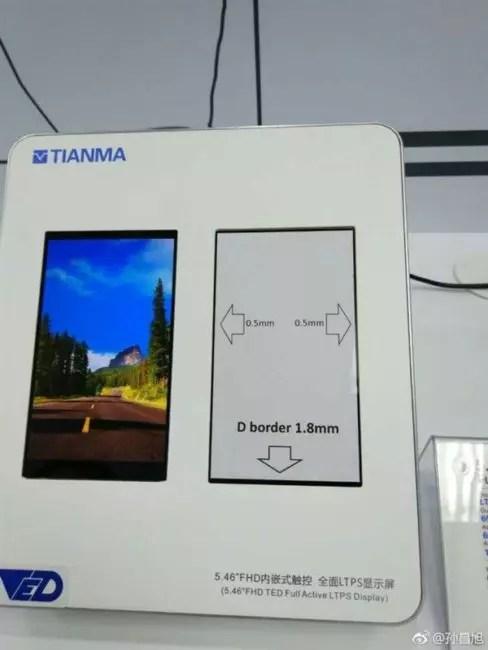 Diseño del Xiaomi℗ Redmi Pro 2