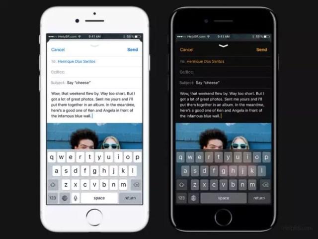 Modo oscuro en iOS 11