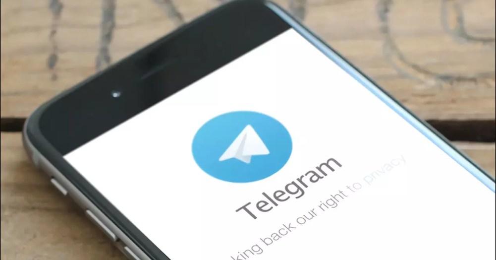 telegram en smartphone