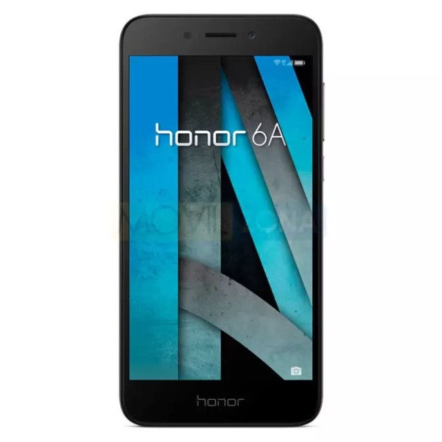 Honor 6A oscuro frontal