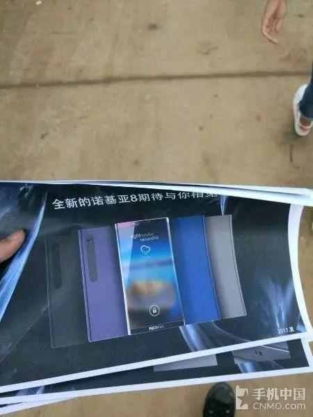 Nokia 8 con escáner de iris