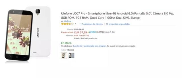Ulefone UOO7 Pro