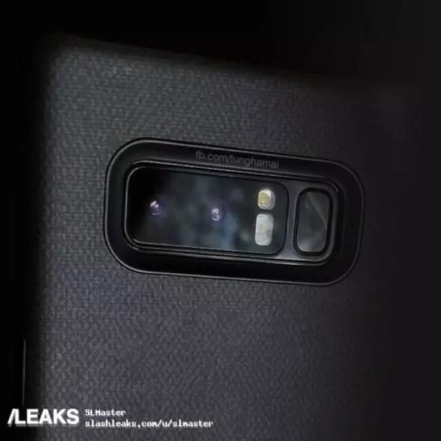 cámara dual samsung galaxy note 8