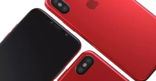 iphone 8 rojo