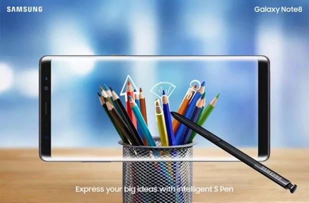 opinión del Samsung Galaxy Note 8