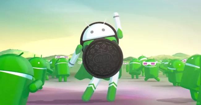 Animación de Android Oreo