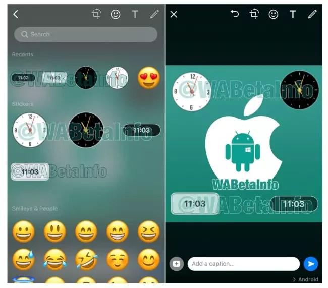 nuevos stickers en WhatsApp