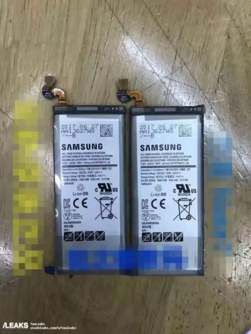batería del Samsung Galaxy Note 8