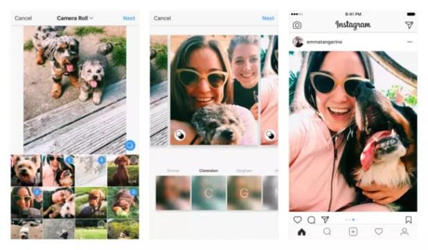 álbumes de Instagram