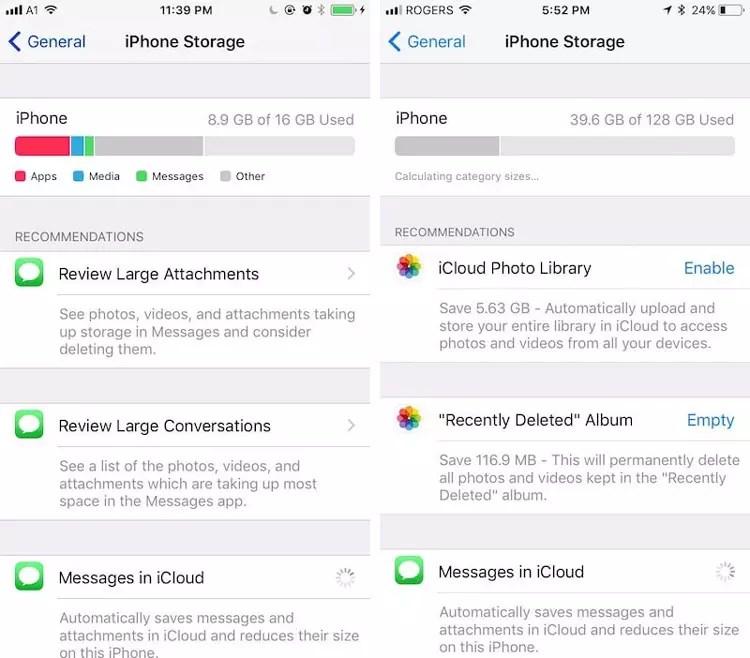 Herramientas para la optimizacion de la memoria de iPhone® con iOS® 11