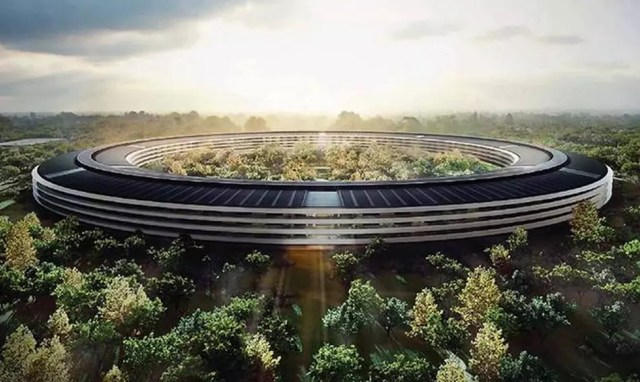 Apple Park como sede de la compañía
