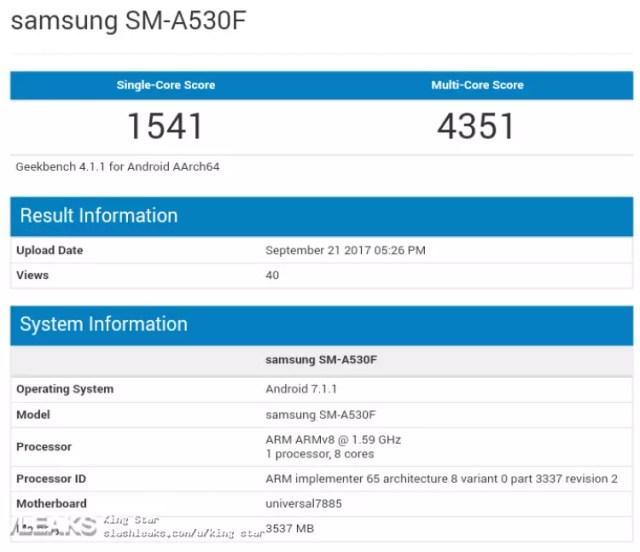 Samsung Galaxy℗ A5 (2018)