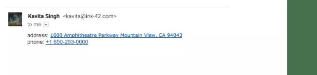 enlaces en gmail