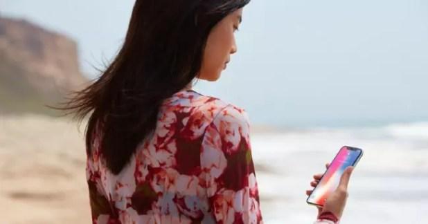 sistema de reconocimiento facial del iPhone X