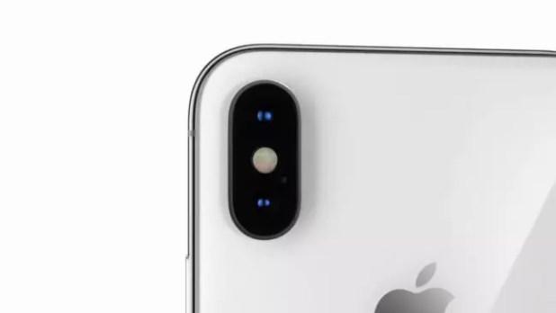 1cámara trasera del iPhone X