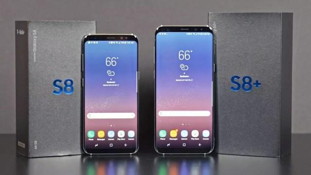Caja de embalaje de los Samsung℗ Galaxy℗ S8 y S8+