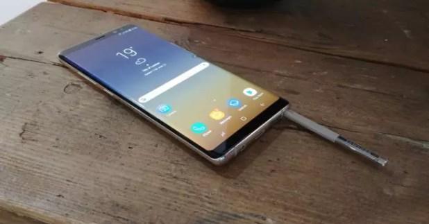 S- Pen del Samsung Galaxy Note 8