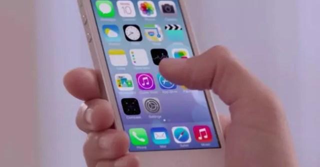 iPhone con apps instaladas