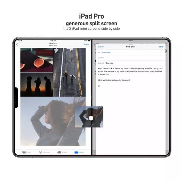 iPad Pro sin marcos