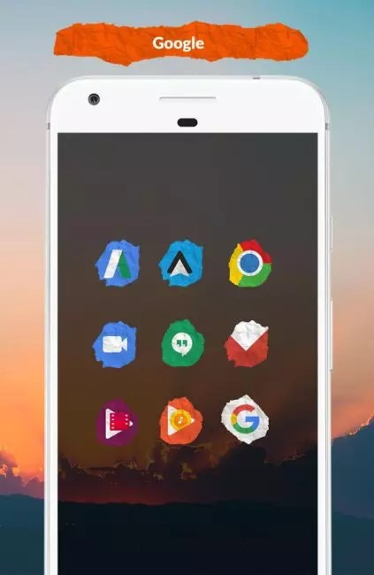 Papel icon pack