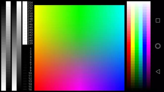 Calidad de la pantalla del Motorola G5S
