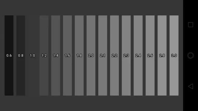 Calidad de los grises del Motorola G5S