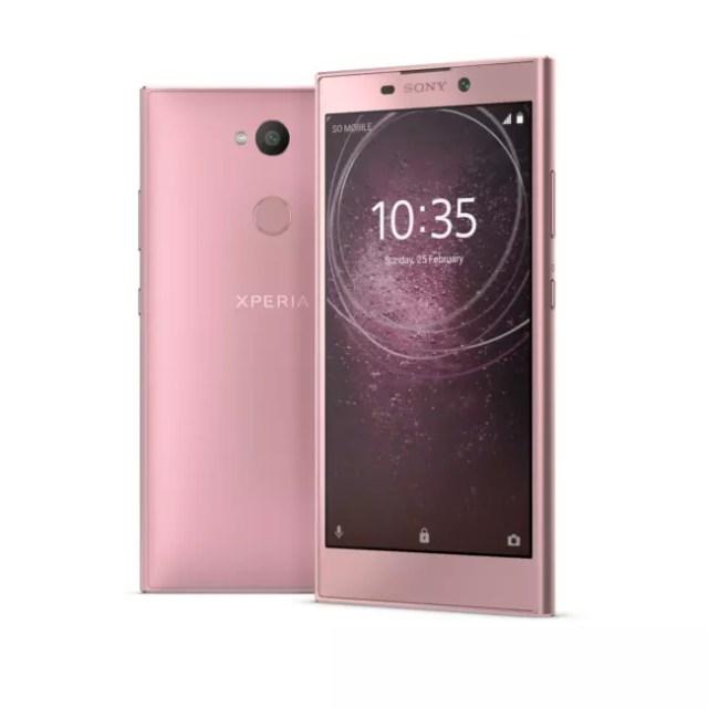 Sony Xperia(móvil) L2 en rosa