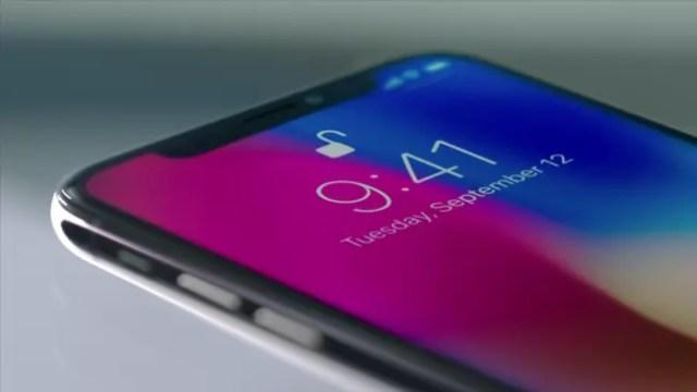 iPhone X pantalla