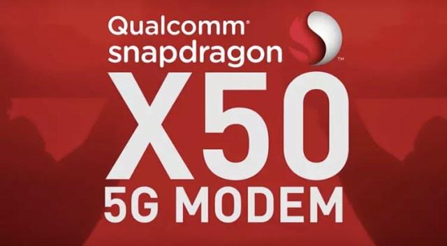 Qualcomm Snapdragon 850 con conexion 5G gracias al módem Snapdragon X50