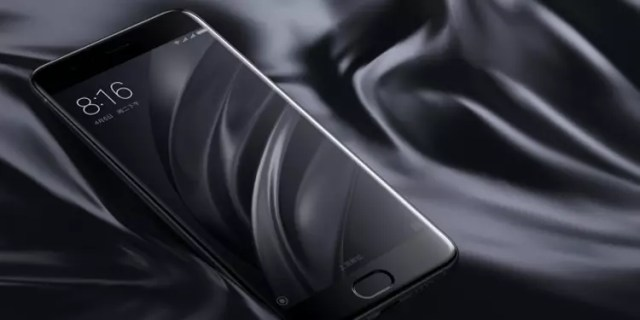 Xiaomi Mi 6 en color negro