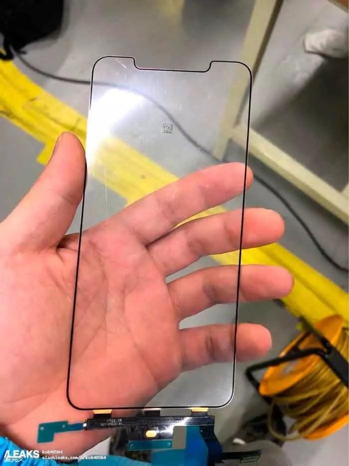 panel frontal del iPhone X Plus
