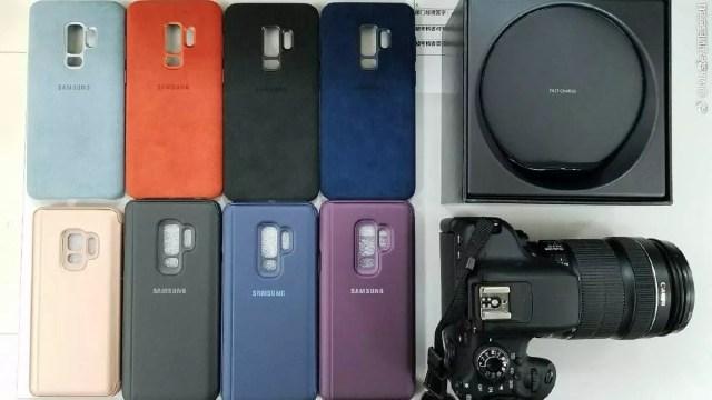 Nuevas imágenes de las fundas para los Galaxy℗ S9 y S9 +