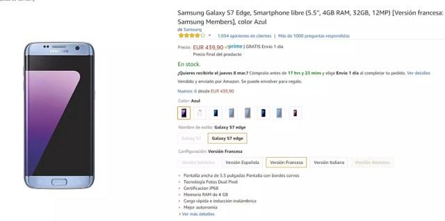7df3f72834f Aprovecha el mejor precio de los Galaxy S7 y Galaxy S7 Edge en ...