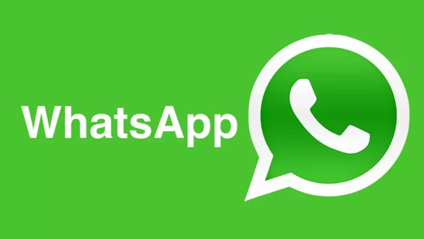 Logo de WhatsApp sobre fondo verde