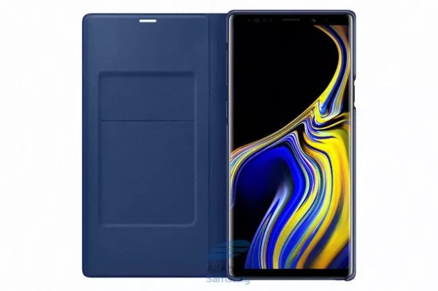Galaxy Note 9-funda Oled View-colores