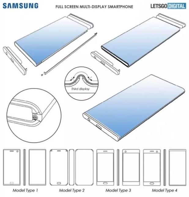 Samsung Galaxy-3 pantallas
