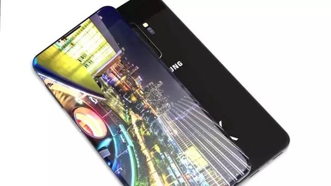 Samsung Galaxy s10-concepto