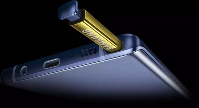 Galaxy Note 9 con S Pen