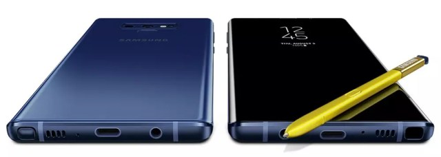 Samsung Galaxy℗ Note 9 en color púrpura