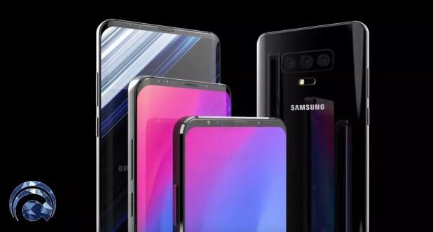Imagen conceptual del Samsung Galaxy S10