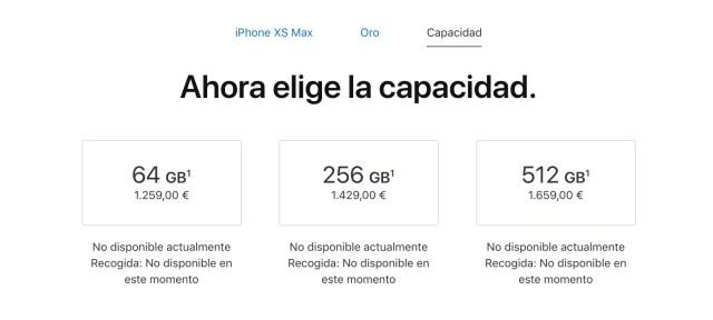 iPhone Xs Max Precios